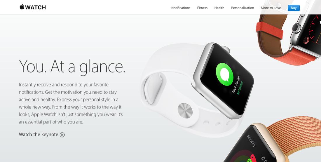 Apple Demonstrating Feelings over Functions