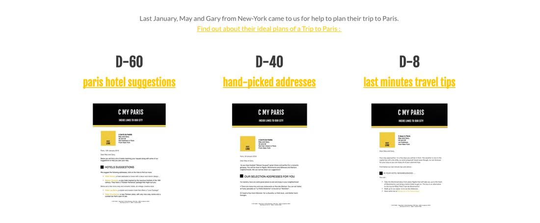 C My Paris Weebly Website