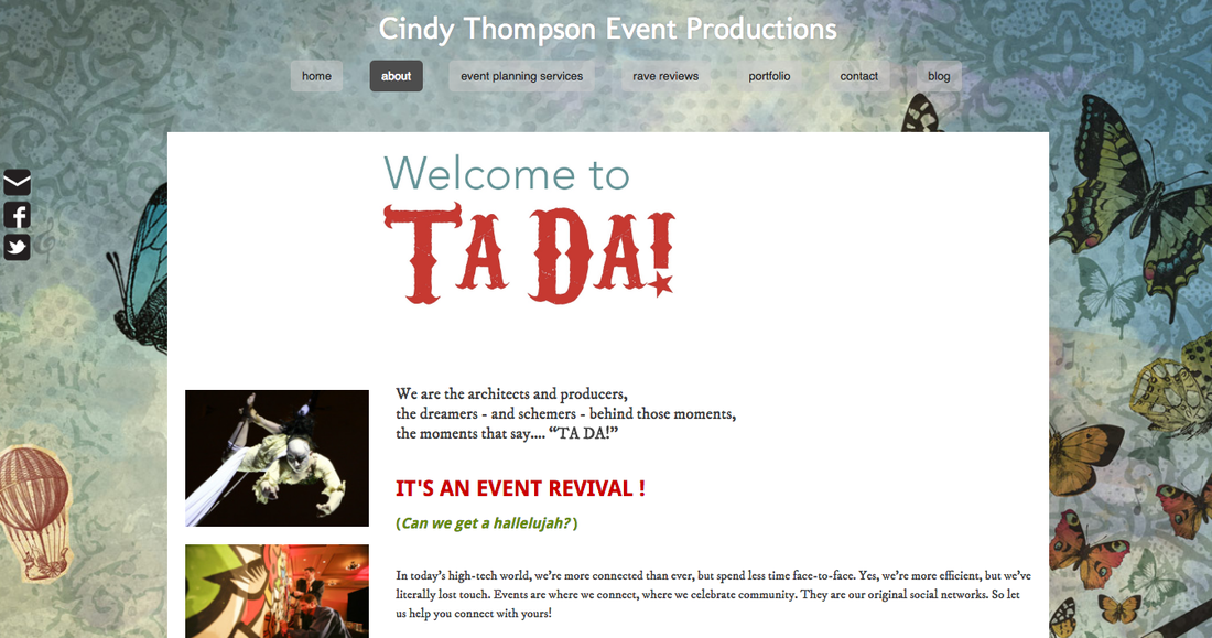 Cindy Thompson Weebly Website