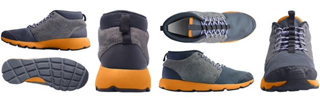 Different angles of shoe product photo
