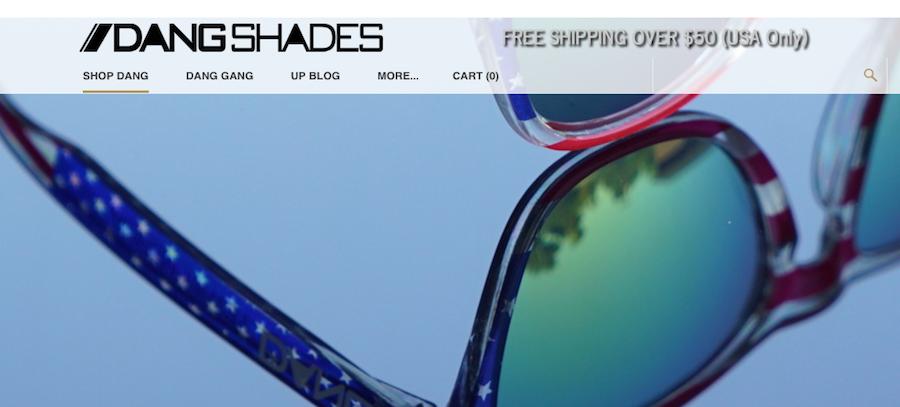 Image of Dang Shades Shipping Orders
