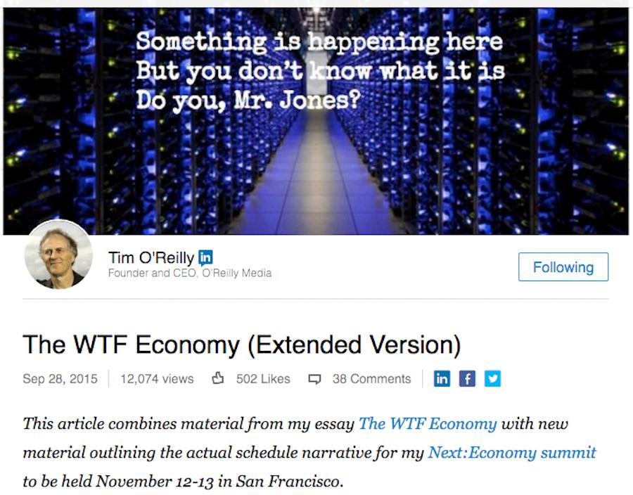 Image of O'Reilly Media Using Social Publishing