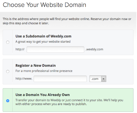 Image of Website Domain