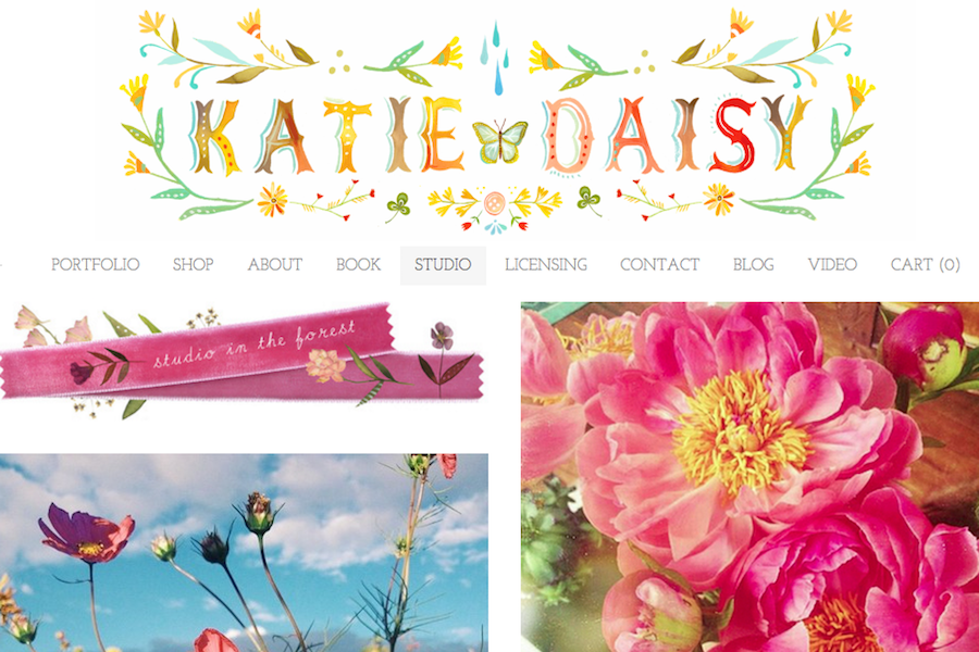 Katie Daisy Online Portfolio