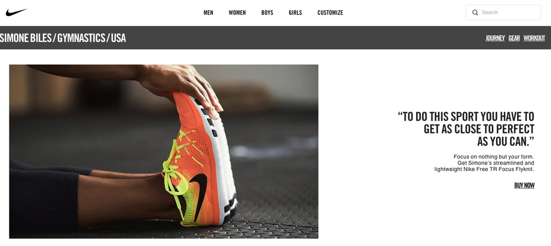 Nike Demonstrating the Exclusivity