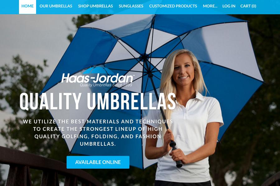 Quality Umbrellas Screenshot