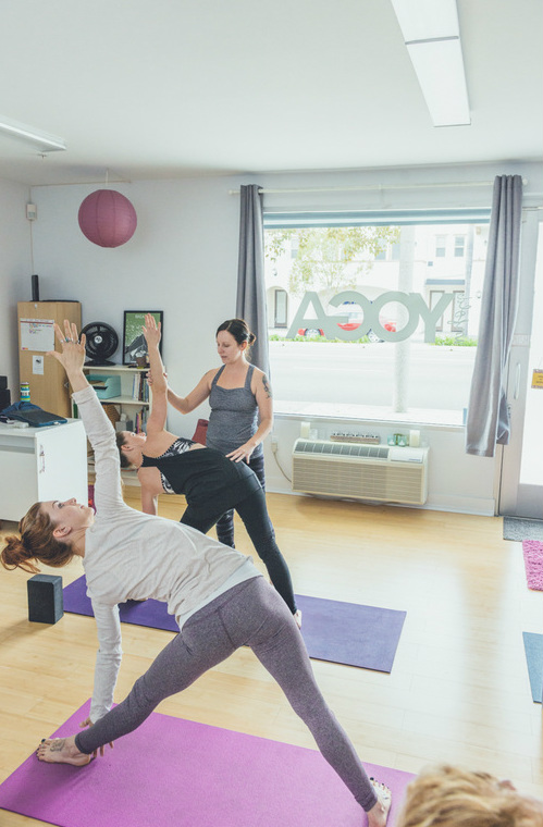 Yoga Mindfulness Running Business