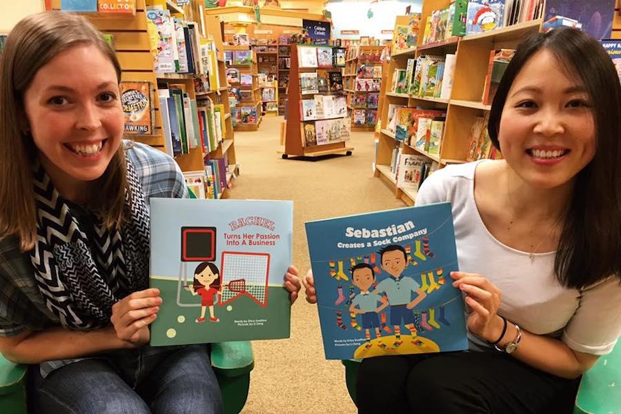 Showing off Kickstarter funded children's book