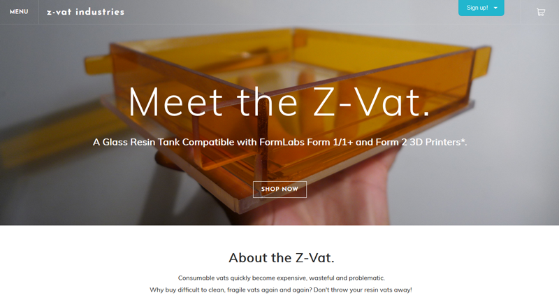 Z-Vat Industries call to action