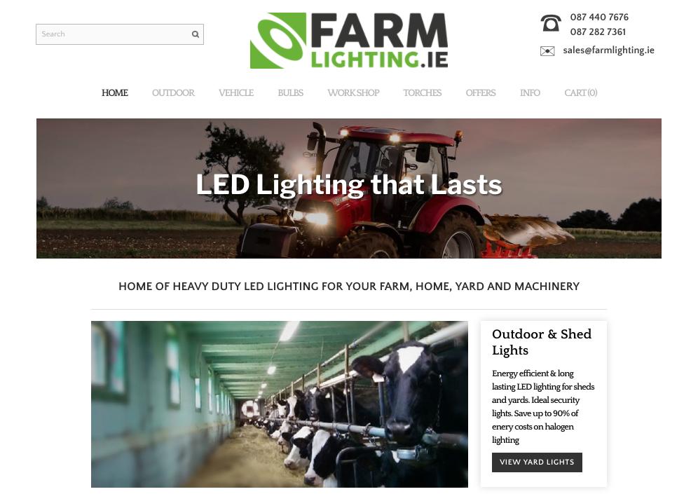 FarmLighting Homepage
