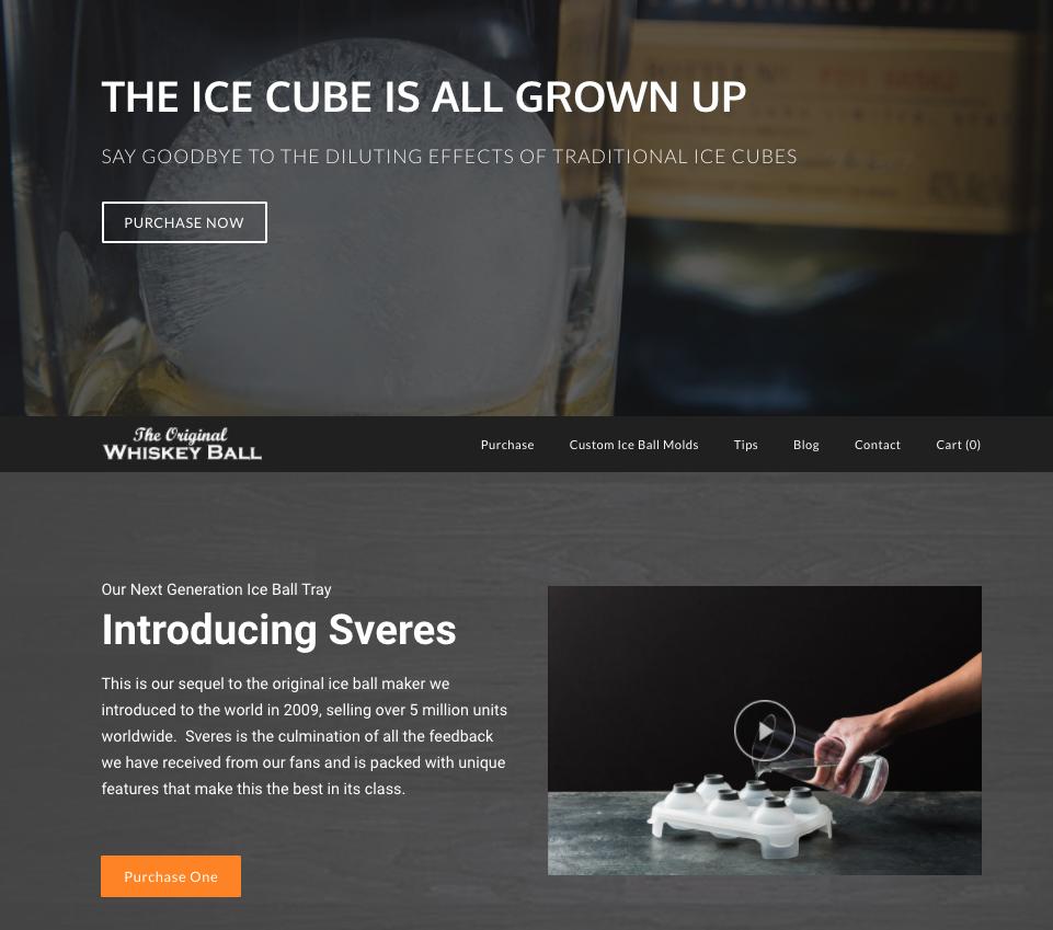 Whiskey Ball Homepage