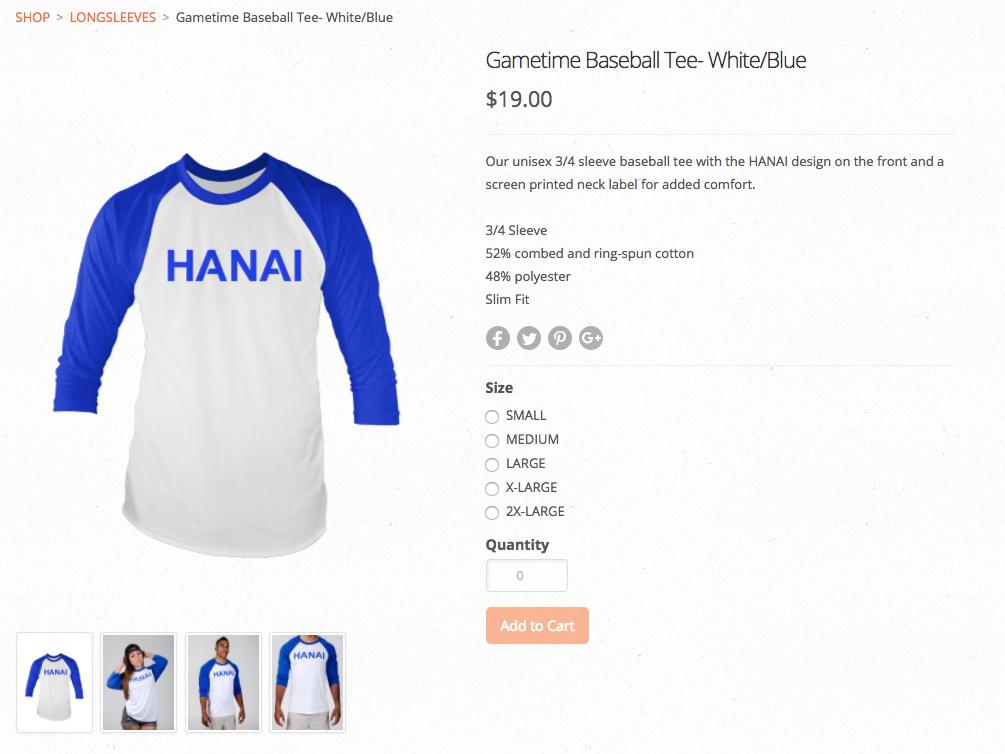 Hanai Clothing